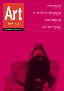 Art Monthly - November 2006   No 301