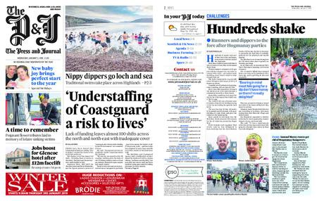 The Press and Journal Moray – January 02, 2019