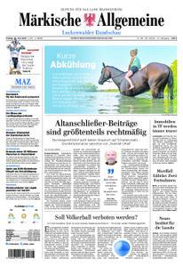 Märkische Allgemeine Luckenwalder Rundschau - 28. Juni 2019