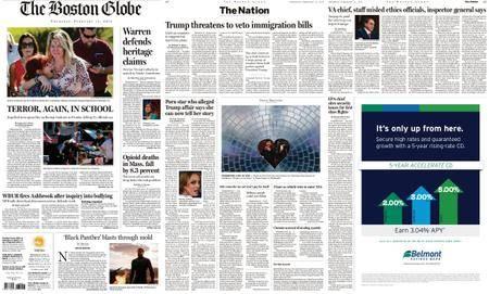The Boston Globe – February 15, 2018