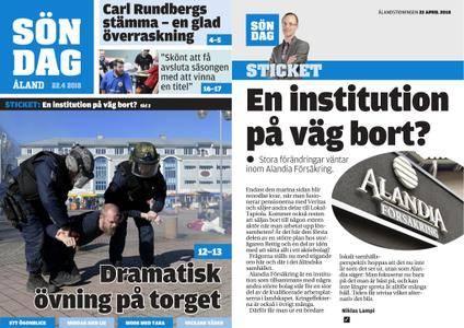 Ålandstidningen – 22 april 2018