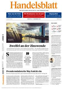 Handelsblatt - 11. Dezember 2018