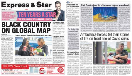 Express and Star City Edition – July 11, 2020