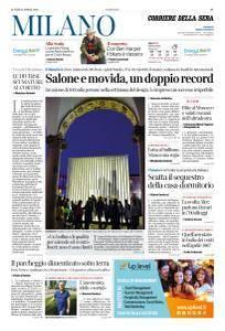 Corriere della Sera Milano - 23 Aprile 2018