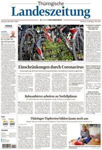 Thüringische Landeszeitung – 16. März 2020