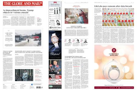 The Globe and Mail – December 18, 2019