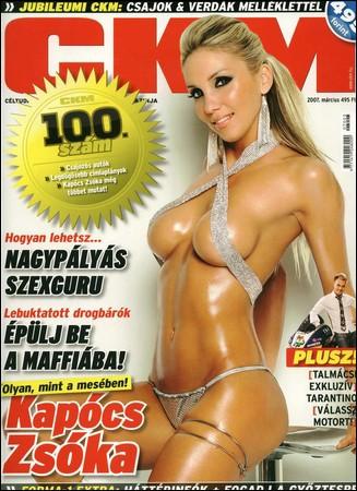 Zsoka Kapocs - CKM March 2007 Photoshoot
