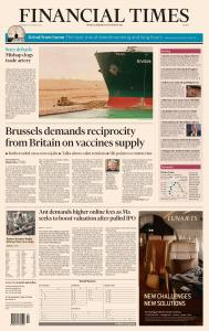 Financial Times Europe - March 25, 2021