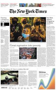 International New York Times - 13 July 2020