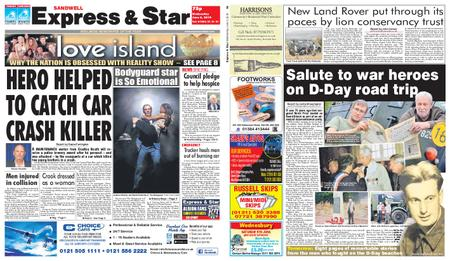 Express and Star Sandwell Edition – June 05, 2019