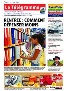 Le Télégramme Concarneau – 22 août 2019
