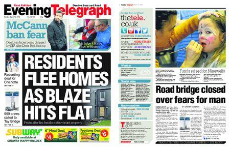 Evening Telegraph First Edition – March 12, 2018