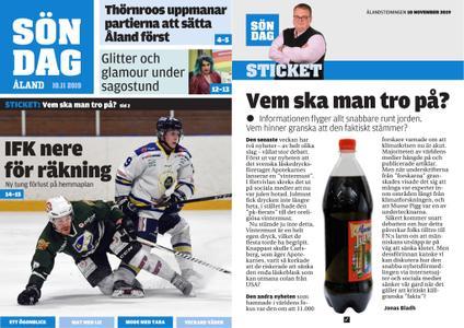 Ålandstidningen – 10 november 2019