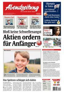 Abendzeitung Muenchen - 23 Juli 2021