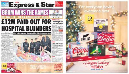 Express and Star City Edition – December 21, 2017