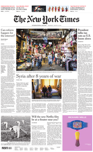International New York Times - 22 August 2019