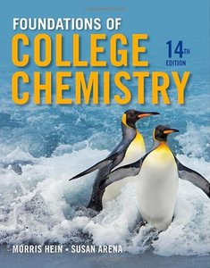 Foundations of College Chemistry (14th Edition)