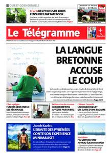 Le Télégramme Ouest Cornouaille – 22 mai 2021