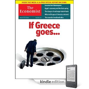 The Economist, for Kindle - June 25th 2011