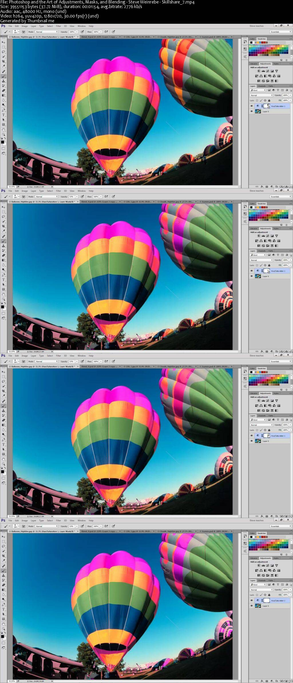 Photoshop and the Art of Adjustments, Masks, and Blending