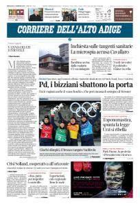 Corriere dell'Alto Adige - 21 Febbraio 2018