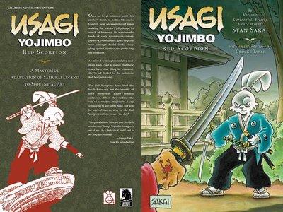 Usagi Yojimbo (Book 28) - Red Scorpion (2014)