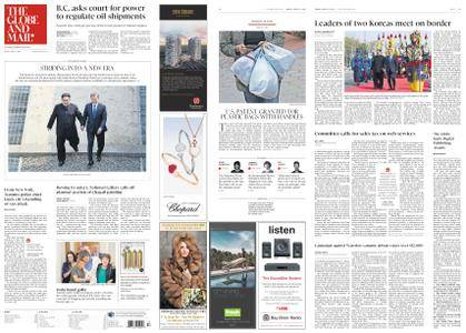 The Globe and Mail – April 27, 2018