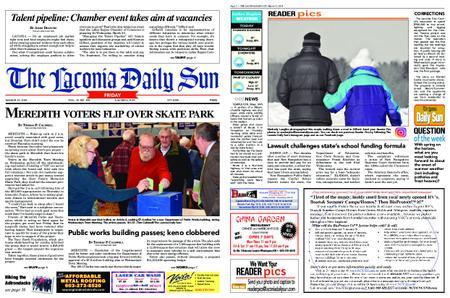 The Laconia Daily Sun – March 15, 2019