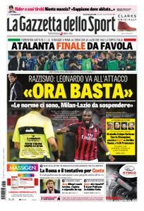 La Gazzetta dello Sport Roma – 26 aprile 2019