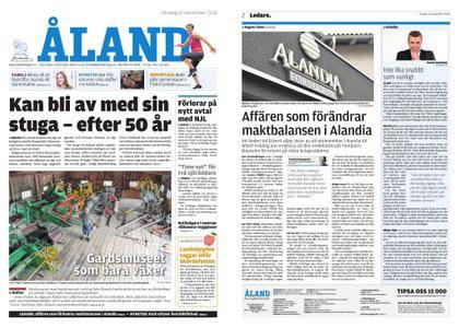 Ålandstidningen – 19 september 2018