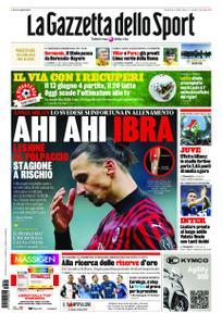 La Gazzetta dello Sport Roma – 26 maggio 2020