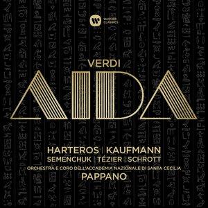 Anja Harteros, Jonas Kaufmann, Antonio Pappano - Verdi: Aida (2015) [Official Digital Download 24-bit/96kHz]