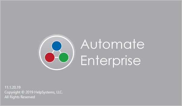 Automate Enterprise 11.1.20.19