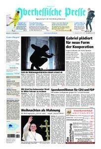 Oberhessische Presse Hinterland - 27. Dezember 2017