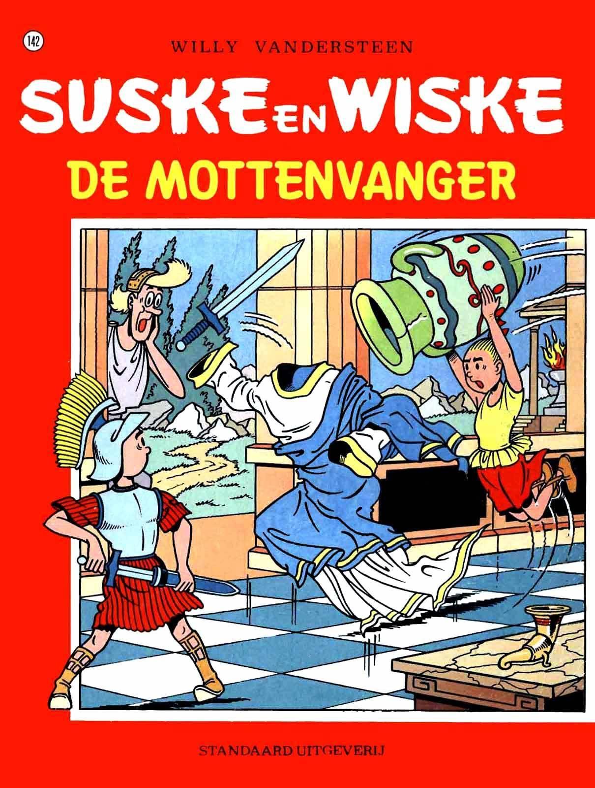 Mad  Diversen  Suske En Wiske - 142 - De Mottenvanger cbr