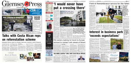 The Guernsey Press – 25 October 2019