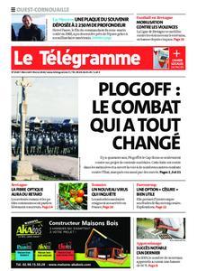 Le Télégramme Ouest Cornouaille – 05 février 2020