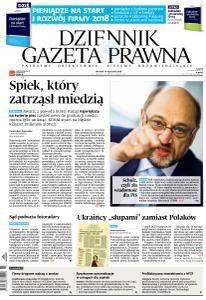 Dziennik Gazeta Prawna - 16 Stycznia 2018