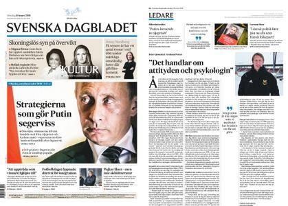 Svenska Dagbladet – 18 mars 2018