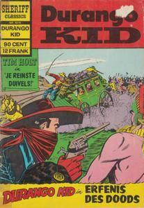 Sheriff Classics - 215 - Durango Kid - Erfenis Des Doods