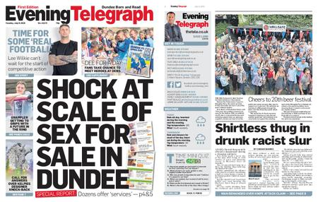 Evening Telegraph First Edition – July 09, 2019