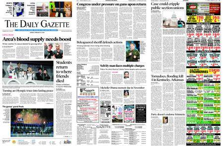 The Daily Gazette – February 26, 2018