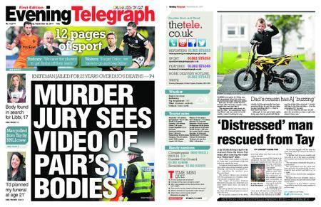 Evening Telegraph First Edition – September 22, 2017