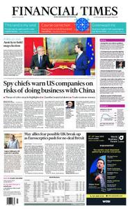 Financial Times UK – May 20, 2019