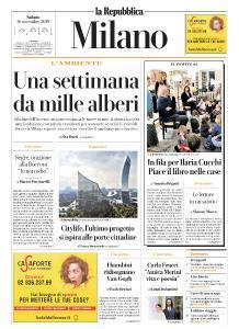 la Repubblica Milano - 16 Novembre 2019
