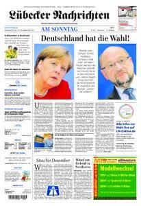 Lübecker Nachrichten Ostholstein Süd - 24. September 2017