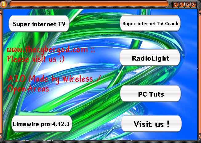 AIO  Limewire PRO 4.12.3 - Super Internet TV