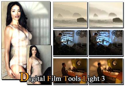 Digital Film Tools Light 3 (Full+Crack) - PS Plugin