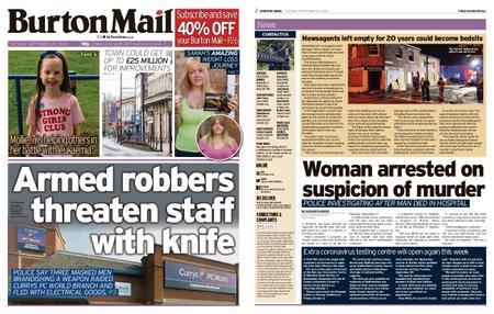 Burton Mail – September 29, 2020
