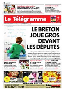 Le Télégramme Brest – 08 avril 2021